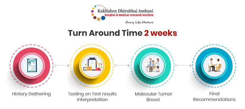 Turn around time 2 weeks